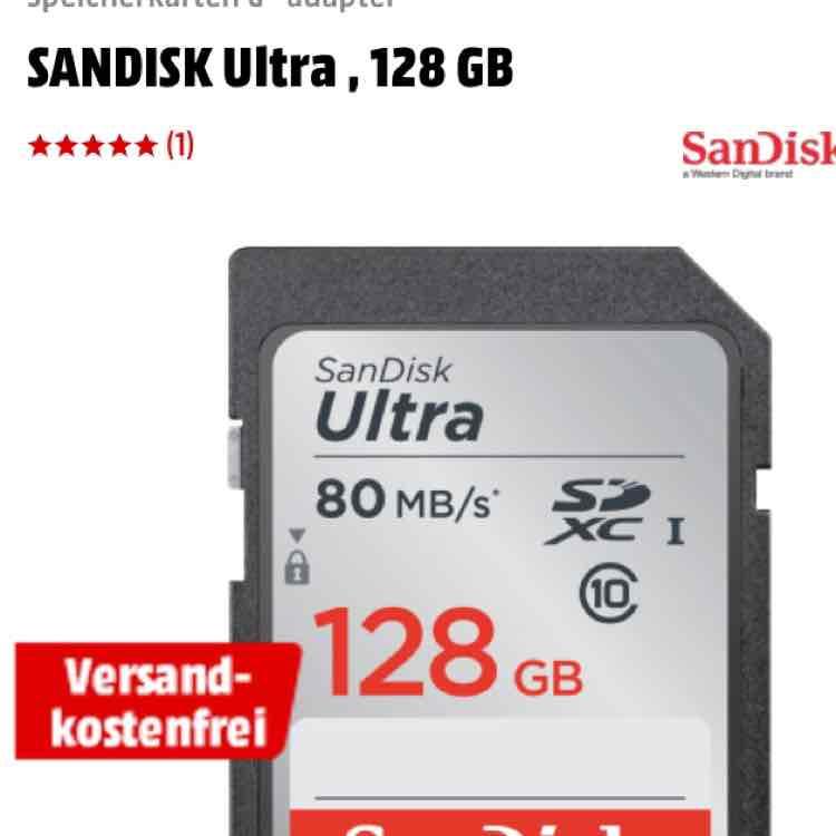 SanDisk Ultra SDXC Class 10 - 128GB