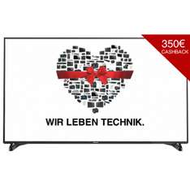 Panasonic TX-65DXW904 3149,- durch Cashback anstatt statt 3789,- LED TV (Flat, Direct LED 65 Zoll, UHD 4K, 3D, SMART TV) (Mediamarkt Nordhorn)