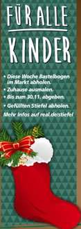 [Real] Füllaktion Nikolausstiefel: Basteln, abgeben, gefüllt wieder abholen
