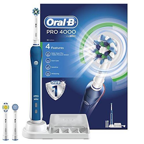 [Amazon.co.uk] elektrische Zahnbürste Oral-B Pro 4000 für 45,50€