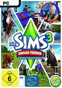 SIMS 3 einfach tierisch Addon (download code)