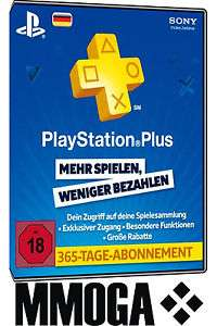 365 Tage Playstation Plus