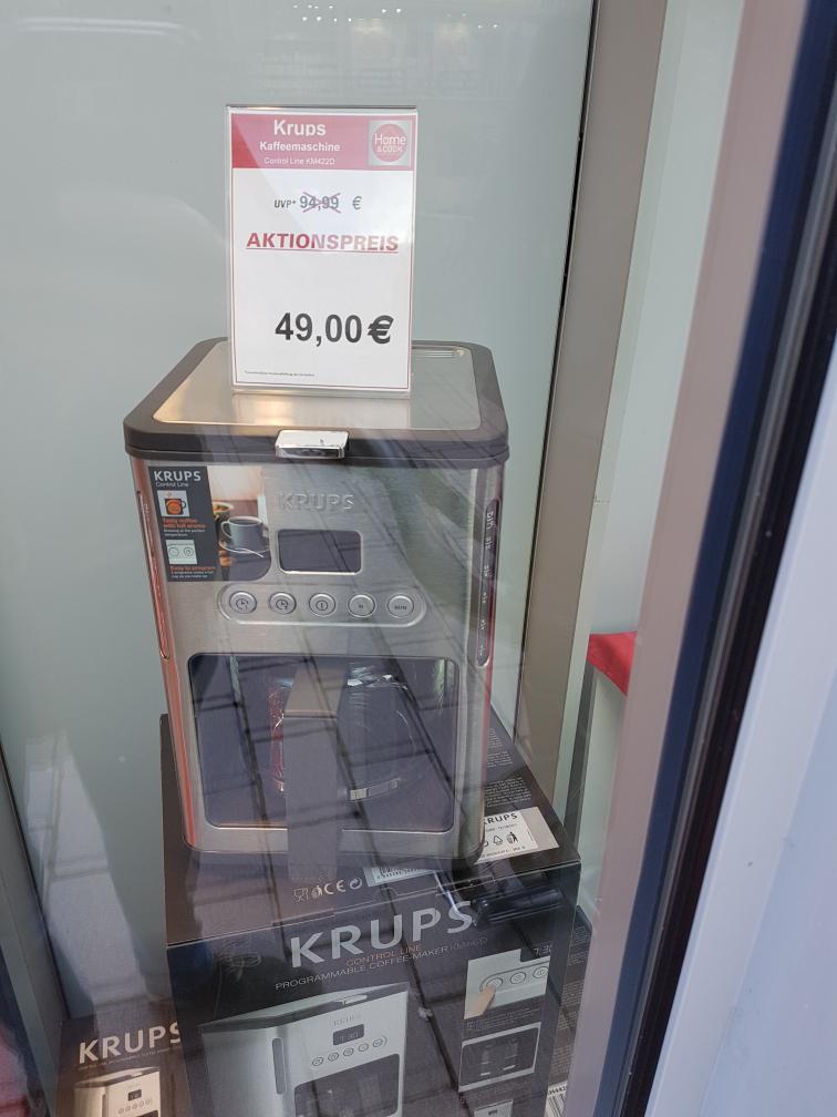 Lokal (Ahrensburg) - Krups Control Line KM422D