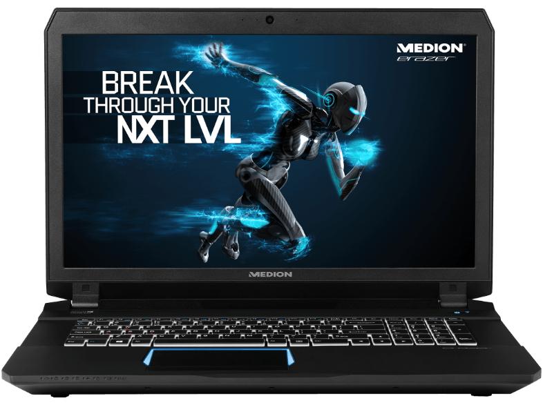 """MEDION ERAZER X7843 MD99727 für 1799,10€ - 17,3"""" Notebook Core i7-6820HK, 32GB RAM, 1TB HDD, 960GB SSD @bf2016"""