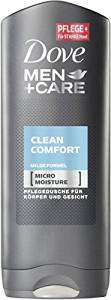 [Amazon Prime] Dove Clean Comfort Men+Care Duschgel 6 x 250 ml (vorbestellbar)