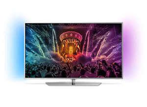 PHILIPS 55PUS6551/12 Ambiligiht 2-seitig LED TV, 55 Zoll, UHD 4K, Android TV, 799€ inkl VSK@ saturn ebay