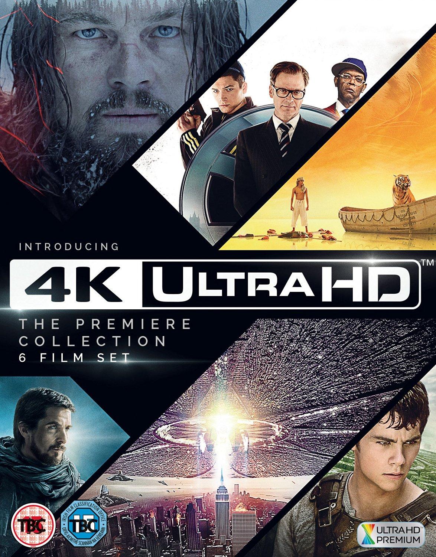 [amazon.co.uk] 4K Ultra HD - The Premiere Collection - 6 Filme ein Preis