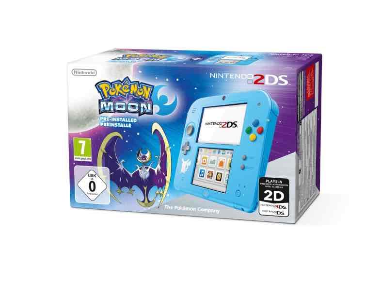 Nintendo 2DS mit Pokémon Mond oder Sonne + Tasche für 99 € | Saturn.de