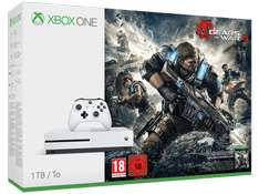 Xbox One S 1TB + Gears of War 4 + Dishonored 2 für 298,99€ @Saturn.de