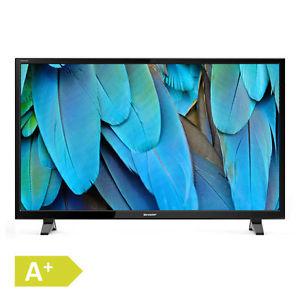 Sharp Aquos LC-49CFE4042E (49 FHD Edge-lit, 100Hz [interpol.], 300cd/?m², Triple Tuner, DVB T2, 3x HDMI, 2x USB, LAN, CI+, VESA, EEK A+) [eBay WOW]