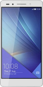 Honor 7 LTE + Dual-SIM (5,2 FHD IPS, Kirin 935 Octacore, 3GB RAM, 16GB eMMC, 20MP + 8MP Kamera, Vollmetallgehäuse, 3100mAh, Android 6) für 199€ [Mediamarkt]