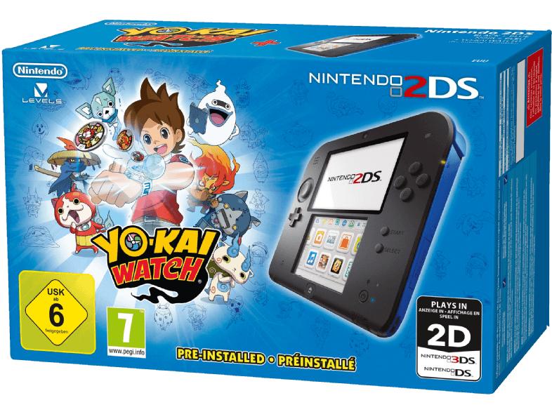 Nintendo 2DS inkl. Yo-Kai Watch oder inkl. New Style Boutique für je 75€ versandkostenfrei [Saturn]