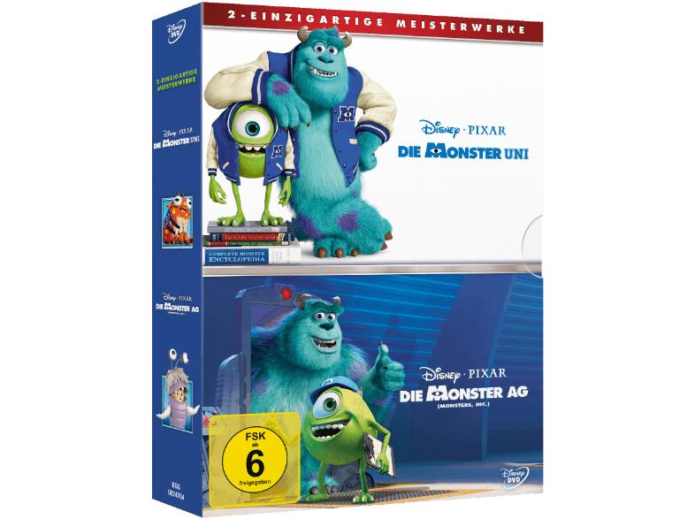 Monster AG & Die Monster Uni für 10€- zwei Filme in einer Box bei Saturn @bf2016
