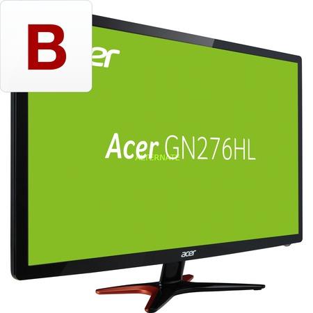 """Acer GN276HLB 27"""" (1920x1080p) 144Hz TFT: (HDMI, DVI, VGA), 3D ready, 300 cd/m², 1ms für 263,95€ @Zackzack.de"""