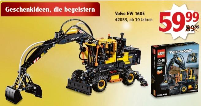 [Globus] Bundesweit - Lego Technic 42053 Volvo EW 160E