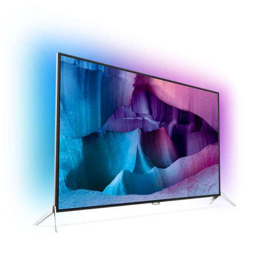 Philips 48 Zoll 4K UHD-LED TV 48PUS7600/12 mit 3-Seiten Ambilight [B4F]