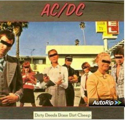 Einige AC/DC Schallplatten für nur 8,99 € bei Amazon