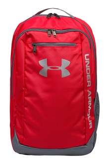 *wieder da* UNDER ARMOUR Hustle Backpack Rucksack Rot [outlet46]