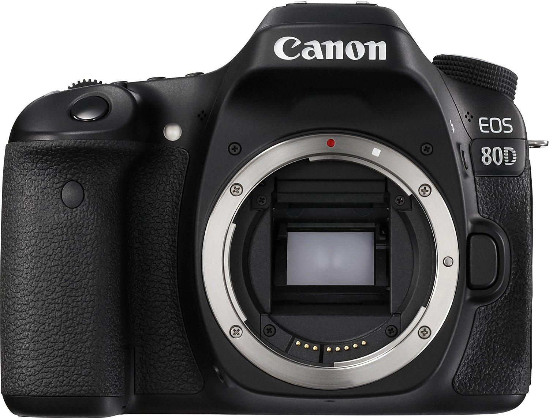 [Amazon] Canon EOS 80D Body 888,00 EUR (+ Canon Cashback für 798,00 EUR)