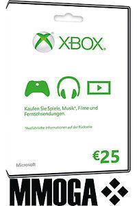Xbox Live 25€ Guthaben (112 Payback Punkte)