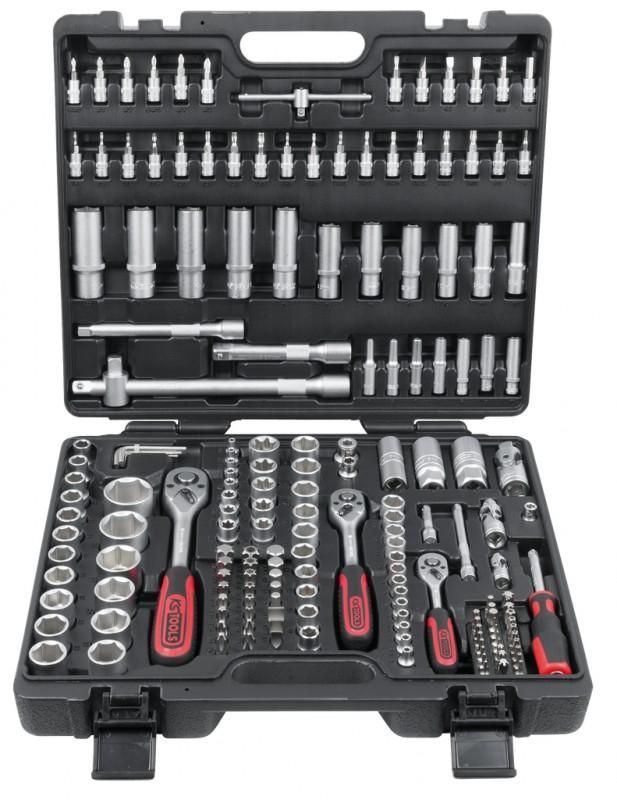 [Amazon] KS Tools Steckschlüssel-Satz, 179-teilig für 75,99€
