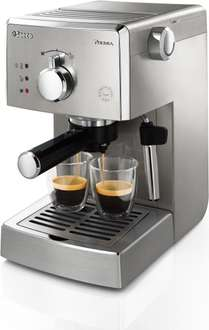 Philips Saeco Poemia HD8427/11 Espresso Maschine 1L - 2 Tassen bei top12