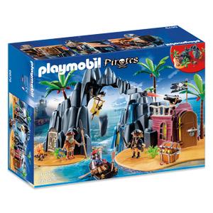 [real.de] Playmobil Piraten-Schatzinsel für 25€ bei Abholung anstatt 37€