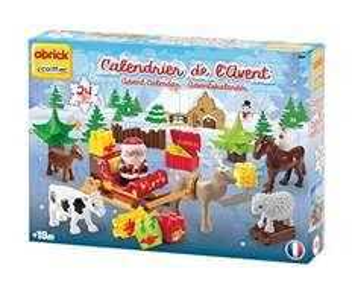 Ecoiffier 3109 - Abrick Adventskalender Winterzauber 4,99€ Amazon Plus Produkt