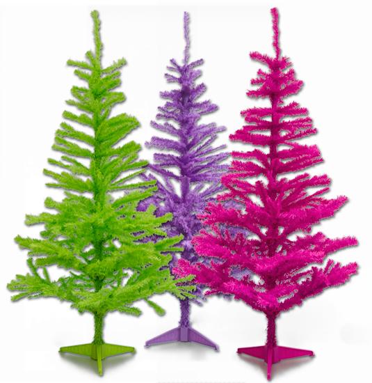 Fancy knallig verstrahlte Weihnachtsbäume für 12,99 € in 1,50m Größe
