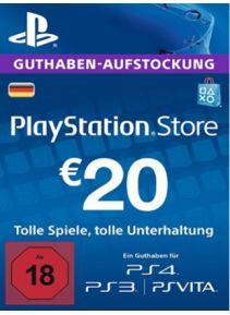 (G2A) 20€ PSN Guthaben für 17,74€