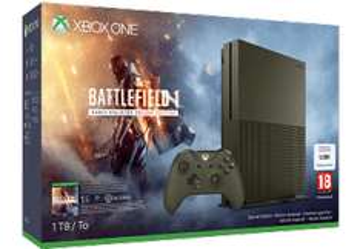 [MediaMarkt] MICROSOFT Xbox One S 1TB Konsole - Battlefield 1 - Special Edition Bundle inkl. Versand