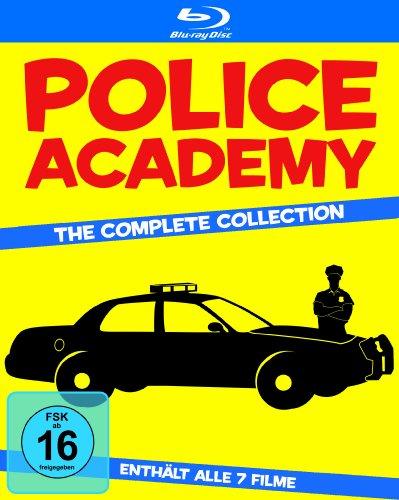 Police Academy Collection (7 Discs) [Blu-ray] für nur 14,97€ @Amazon.de Blitzangebot [Prime]