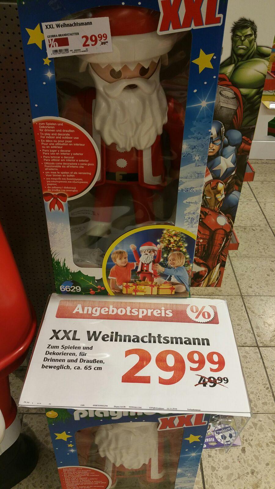 [ Local ] Globus Völklingen - Playmobil XXL Weihnachtsmann (6629)