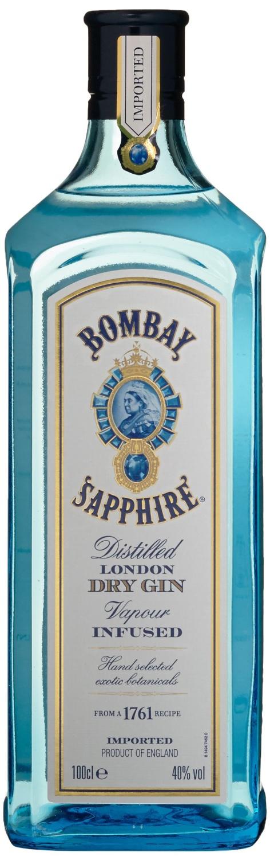 Bombay Sapphire London Dry Gin 1 l    18,99€  inkl. Versand