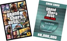 [amazon fr] [PC] GTA V & Megaladon Shark Card Bundle 8000000 kostet bei steam >100 €!!!
