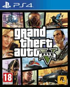 Grand theft Auto V (PS4/XBOX) + 2,5million $ (UK)