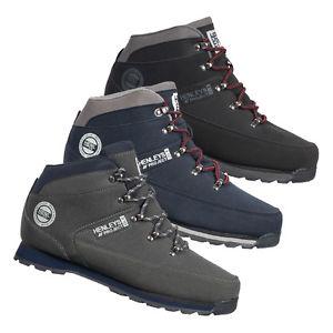 HENLEYS Herren Winter Schuhe Hiker Boots Wanderschuhe Stiefel Winterschuhe Boot