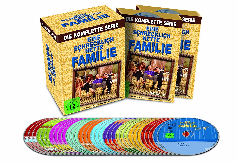 Eine schrecklich nette Familie - Die komplette Serie [33 DVDs] für 29,97€ statt 39,99€ + 1€ Amazon Video GS [Amazon Angebot des Tages]
