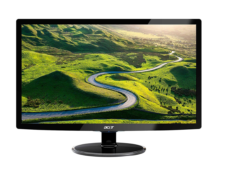 Acer S242HLDBID 60,1 cm (24 Zoll) Monitor (VGA, DVI, HDMI, 1ms Reaktionszeit) schwarz @Amazon WHD (gebraucht, sehr gut)