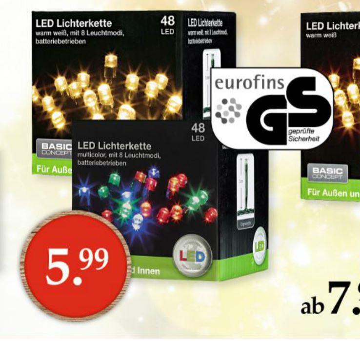 Woolworth Filialen: LED Lichterkette (GS geprüft)