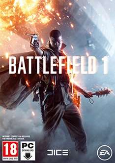 [Amazon.co.uk] Battlefield 1 PC Code - Origin für 35,24€