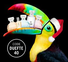 Dufte! 40% Rabatt auf alle Düfte bei The Body Shop @Black Friday