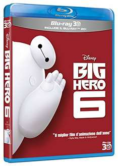 (Amazon.it) Baymax (3D Blu-ray + 2D Version) für 11,38€