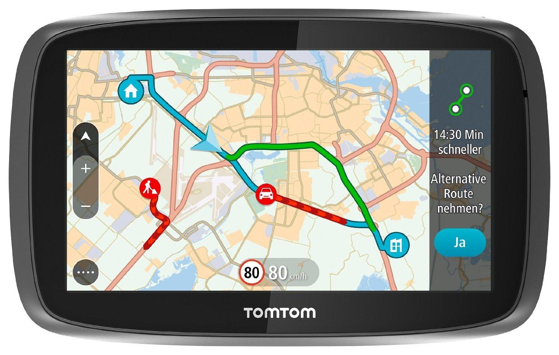 [AMAZON WHD] TomTom Go 510 World 5Zoll Sprachsteuerung, mit Traffic/Lifetime Weltkarten