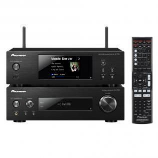 [Redcoon] Pioneer XN-P02 Kompaktanlage ohne Lautsprecher(WiFi, Bluetooth) inkl. Stereo-Receiver/Netzwerk Player/Direct Energy HD Endstufen silber/schwarz