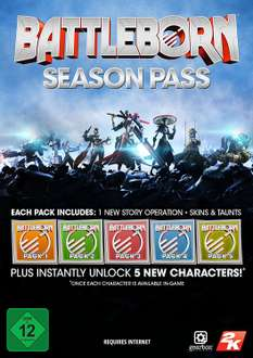 Battleborn Season Pass [PC Code - Steam] @ Amazon