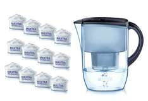 [Amazon] Brita Wasserfilter Jahresvorrat: 12 Kartuschen inkl. Wasserfilter für 39,95€ (kostenloser Versand)