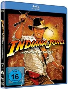 Indiana Jones 1-4 Komplettbox (Bluray) für 12,19€ [Thalia]