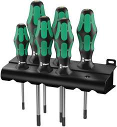 (Amazon Prime) Wera Schraubendrehersatz Kraftform Plus Torx + Rack 6-tlg. für 20€