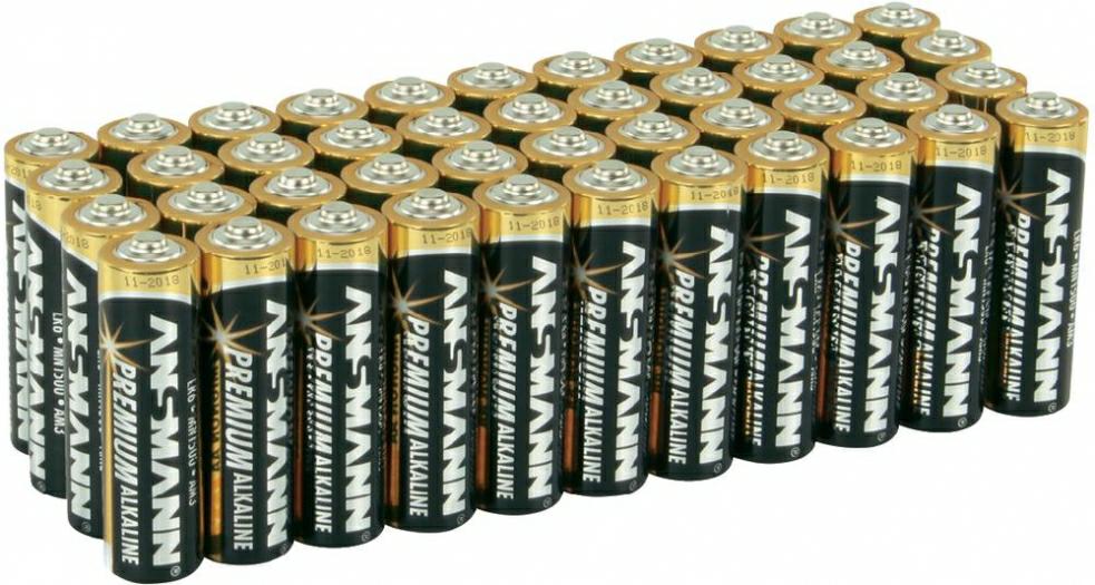 44 stk. Ansmann Mignon (AA)-Batterie Alkali-Mangan LR06 1.5 V